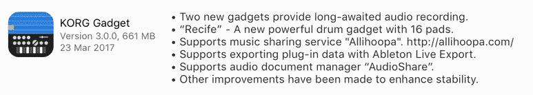 korg gadget download