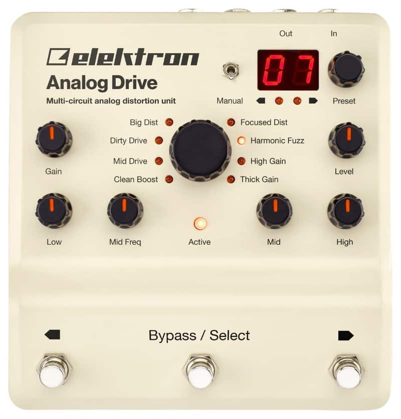 elektron analog drive for synths and keyboards