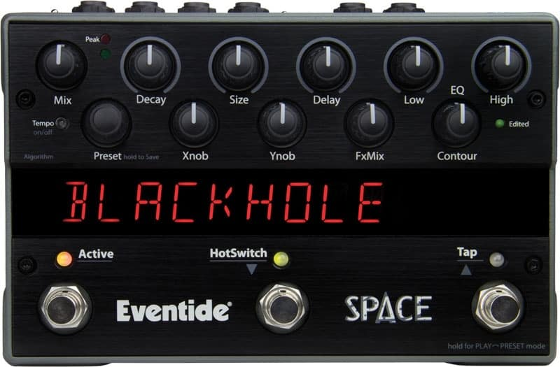 eventide space pedal for synth