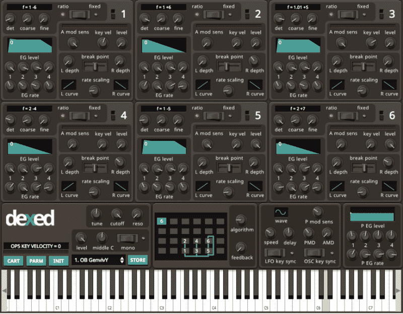 free vst synth dexed